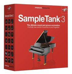 IK Multimedia SampleTank 3 Software Instrument: Load up your DAW with 33 GB of new sounds, from orchestral to outer-spacey! SampleTank's redesigned interface makes it easy to layer parts, add FX, and more.