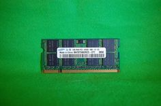 Notebook RAM 2GB Samsung M470T5663RZ3-CF7 PC2-6400 CL6  200p DDR2-800MHz 1,8V