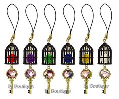 Diabolik Lovers Rose strap  [i want Raito/Laito  and Ayato]