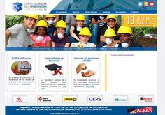Pagina web de la Fundación Acres: www.fundacionacres.org.co