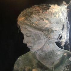 "Képtalálat a következőre: ""barbara kroll artist"" Abstract Portrait, Portrait Art, Abstract Art, Figure Painting, Figure Drawing, Modern Portraits, Leaf Art, Art Sketchbook, Face Art"