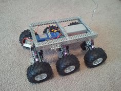 PAROVOZ: 6WD all-terrain robot platform   Let's Make Robots!   RobotShop