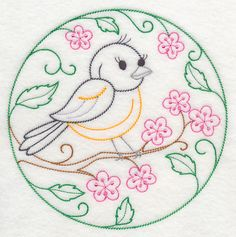 This is from the embroidery library,and there are oodles of inspirational designs and lots of different categories!!