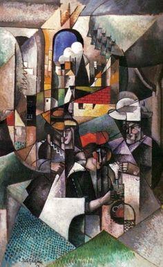 Explaining Cubism to the world
