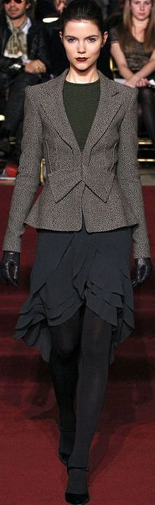 Zac Posen - FALL 2013 - NYFW  change the skirt; love the skirt but not for work