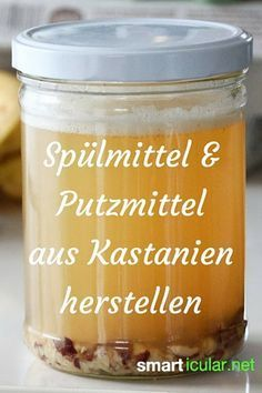 Putzmittel und Spülmittel mit Kastanien herstellen Horse chestnuts are not only used for handicrafts and washing clothes. Find out how you can use them to create a natural and effective cleaning aid! House Cleaning Tips, Spring Cleaning, Green Cleaning, Cleaning Hacks, Clean Out, Belleza Diy, Cleaning Agent, Cleaning Painted Walls, Diy Cleaners