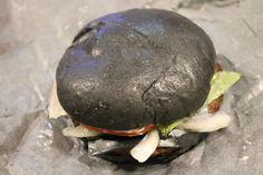Burger King's KURO Burger, Diamond Edition! And it's black!