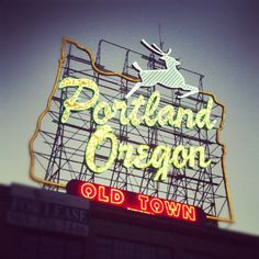 #Portland #oregon #sign