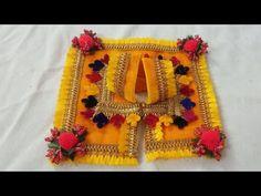 बसंत पंचमी special designer Poshak for Laddu Gopal Laddu Gopal Dresses, Bal Gopal, Ladoo Gopal, Bal Krishna, Diy Felt Christmas Tree, Baby Dress Patterns, Kurti Designs Party Wear, Feather Crafts, Indian Gods