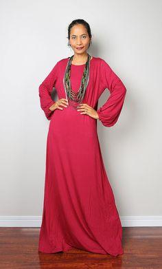 Red Maxi Dress by #Nuichan #shopping #fashion #bitcoin