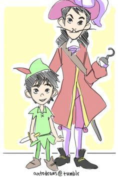 Crossover - *smiles* Peter pan. Second star to the right and state on to morning