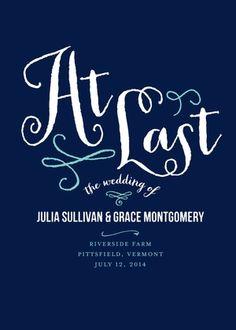 At Last - Signature White Programs - Jenny Romanski - Dark Gray - Gray : Front