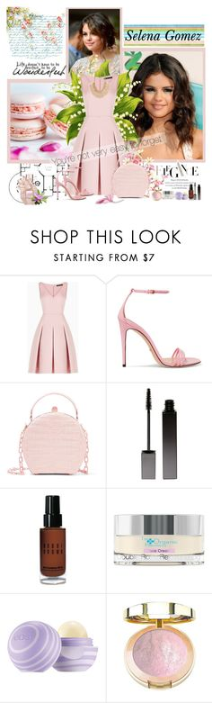 """""""LIFE DOESN'T HAVE TO BE PERFECT TO BE WONDERFUL  {Selena Gomez}"""" by k-hearts-a ❤ liked on Polyvore featuring BCBGMAXAZRIA, Gucci, Nancy Gonzalez, Serge Lutens, Bobbi Brown Cosmetics, The Organic Pharmacy and Deepa Gurnani"""