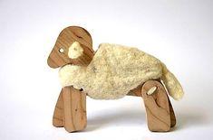 morusa.design / Ovečka v kožúšku... Wooden Toys, Teddy Bear, Car, Animals, Design, Wooden Toy Plans, Wood Toys, Automobile, Animales