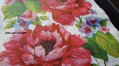 Hobby Shop, Craft Shop, Paper Napkins, Campaign, Models, Medium, Flowers, Check, Crafts