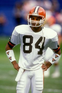 Webster Slaughter#84 Nfl Football Players, Football Boys, Football Helmets, School Football, Football Stuff, Cleveland Team, Cleveland Browns Football, Browns Players, Browns Fans