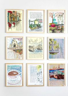 Just ordered this (along with the artist's book!) for a mother's day present   PARIS LETTERS 6 month subscription by JaniceArtShip on Etsy