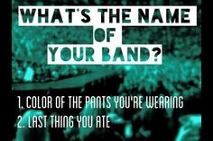 'Black Masala' ... that actually sounds pretty cool!!  What would yours be???