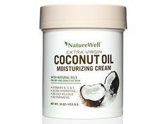 NatureWell coconut oil cream   allure.com
