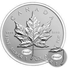 Bullion Exchanges New 2015 1 oz Canadian Maple E=mc2 Privy