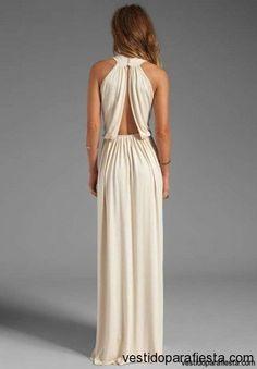 Elegantes y modernos vestidos largos de fiesta con escote en la espalda - 14 | Vestidos Para Fiestas 2014