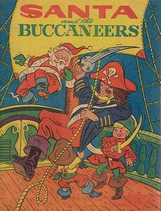 Cover for Santa and the Buccaneers (Western, 1959 series)