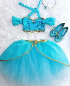 Baby Girls Arabian Princess Sewn Tutu with Gold Lining Princess Jasmine Costume, Princess Costumes, Princess Party, Jasmine Costume Kids, Girl Group Costumes, Baby Costumes, Woman Costumes, Mermaid Costumes, Pirate Costumes