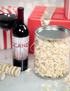 """Give Scandal Fans the Gift of """"Dining"""" Like Olivia Pope Truffle Popcorn, Homemade Truffles, Popsugar Food, Olivia Pope, Edible Gifts, Last Minute Gifts, Food Gifts, Scandal, Party Planning"""