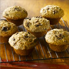 All-Bran™ Spiced Raisin Muffins Recipe - Best served warm, with a pat of butter, cup of coffee and a roaring fire. #AllBran #Recipe #Spiced #Raisin #ComfortFood #FallFlavours #Fibre