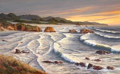 Golden Evening - Cannon Beach by Jeffrey Hull