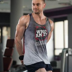 9ea792870c0e1 sweat activated tank top mens gym shirt Gym Men