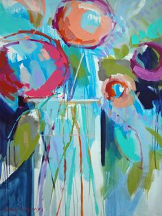 Just discovered Erin Gregory.  Absolutely love the brilliant colors in her paintings!