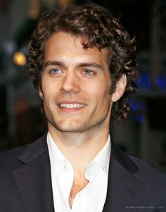 Henry with his curly hair - so yummy!