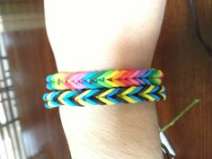 Rubber band rainbow loom bracelets :) --The company I am very proud to say I work for :)