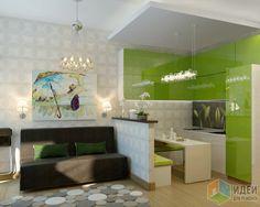 Фотографии [98962]: Дизайн проект квартиры студии от архитектора Наталья Тарасова
