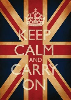 Keep Calm & Carry On Union Jack Poster  from $15.63