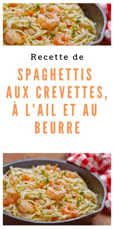 Recipe: Spaghetti with Shrimps, Garlic and Butter - Spaghetti with Shrimp, Garlic and Butter Recipe recipes - Healthy Recipes On A Budget, Healthy Meal Prep, Budget Meals, Healthy Breakfast Recipes, Healthy Snacks, Vegetarian Recipes, Chicken Meal Prep, Chicken Recipes, Hashbrown Casserole