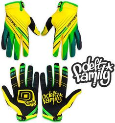 a filigrana familia motocross mx guantes catalyst 2 adecuada amarillo verde todos los tamanos bmx mtb
