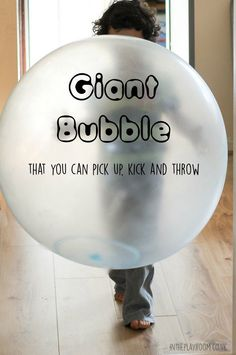 Wubble bubble ball,