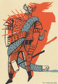 Thor by James Heimer by P-E Fronning, via Flickr