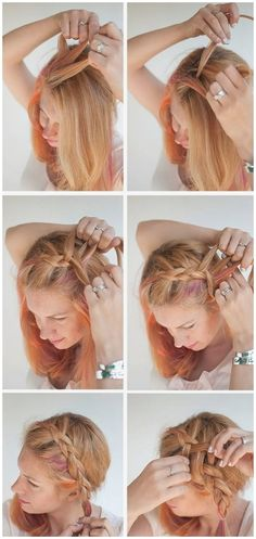 142 Best Frisuren Zum Dirndl Images On Pinterest Make Up Braid