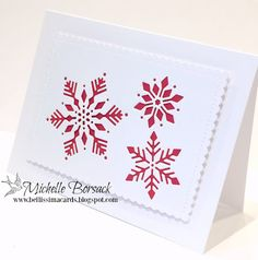 Bellissima Cards: Just When I thought I Was Done with Christmas Card Making...