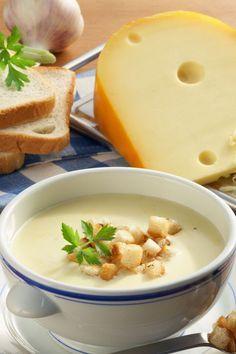 Feine Käsesuppe (ohne Toast )