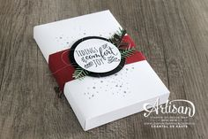 Love for Stamping: Christmas Box Workshop