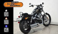 2015 HARLEY-DAVIDSON FXDWG in BLACK QUARTZ/FLAMES At Auckland Motorcycles & Power Sports,  New Zealand www.amps.co.nz