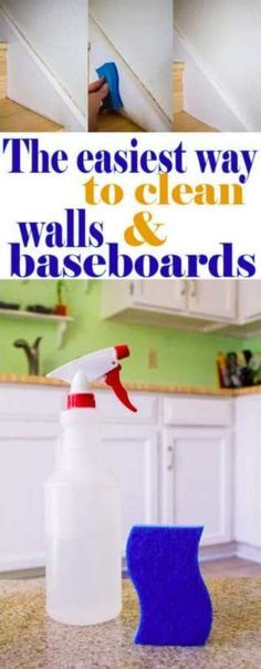The Easiest Way to Clean Walls and Baseboards – BS/U