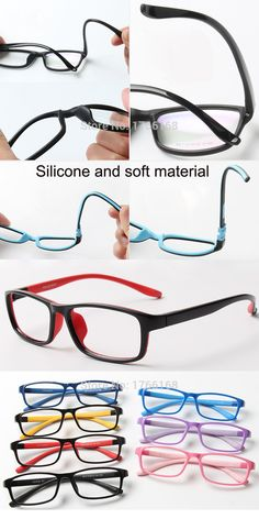 e1f227f1d9c Fashion Eyewear optical glasses children Kids optical frame colorful design  Rubber Silicone TR90 Eyewear child 5015