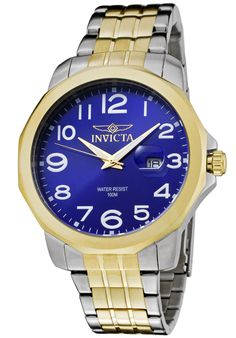 Price:$89.99 #watches Invicta 6864, Effortlessly matching any suit, this trendy Invicta, with its cool, bold design, will elegantly go with anyone's style.