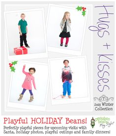 Peekaboo Beans - playwear for kids on the grow. | Shop On-Vine at www.peekaboobeans.com