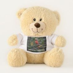 Shop kansas State Bird Teddy Bear created by Babylandia. Personalize it with photos & text or purchase as is!